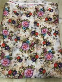 Polyester Fancy  Printed Fabric