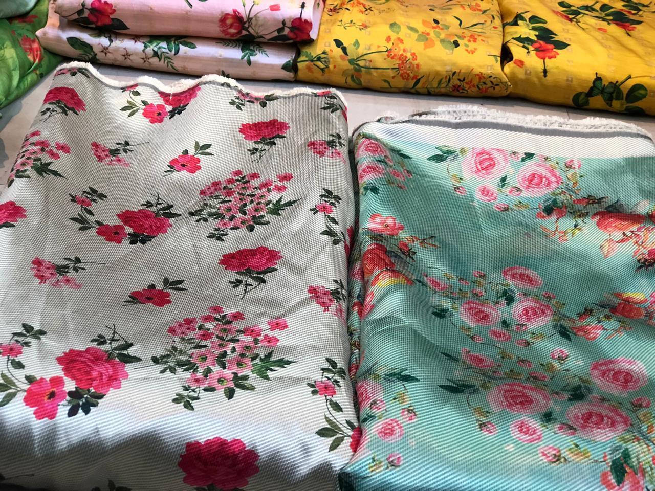 Stylish Digital Print Fabric