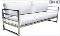 Metal Sofa Three Seater