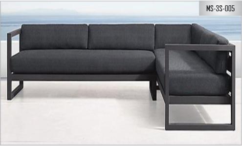 Metal Sofa Three Seater