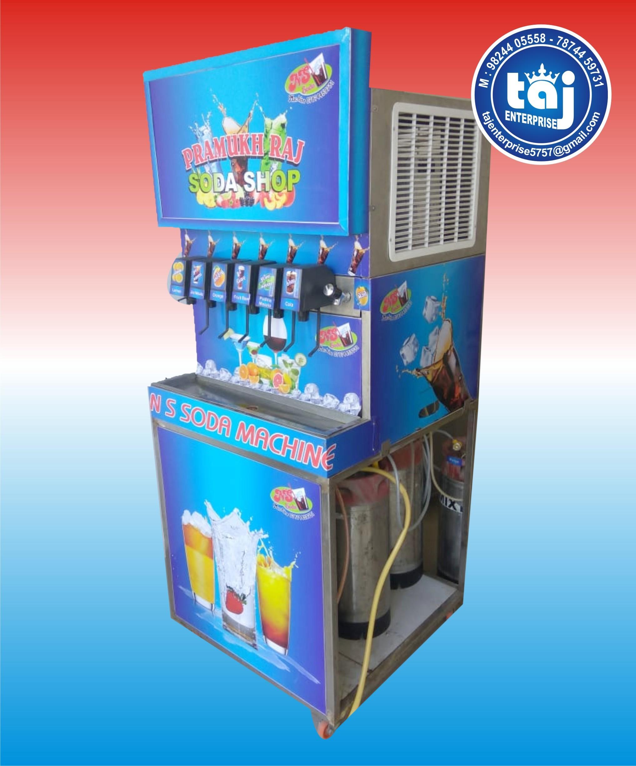 6 Flavor Soda Machine