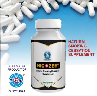 Smoking Cessation Supplement Capsules