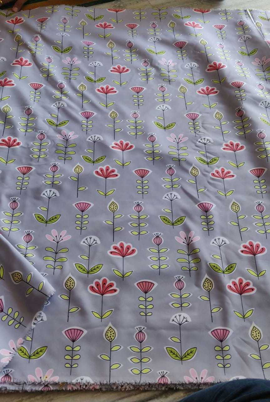 Exclusive Fancy  Digital Printed Fabric
