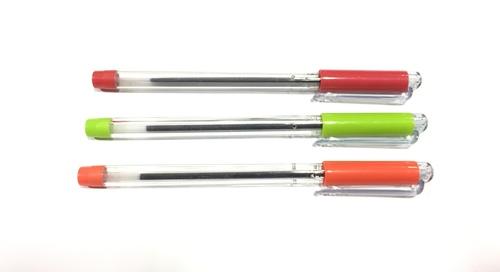 Refillable Transclip Ball Pen