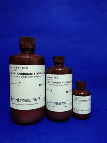 Biotin conjugate stablizer