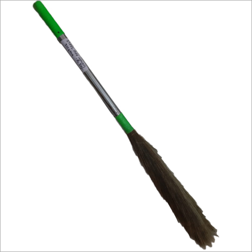 Metal Handle Grass Broom