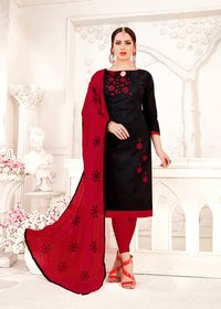 Attractive Cotton Salwar Suit