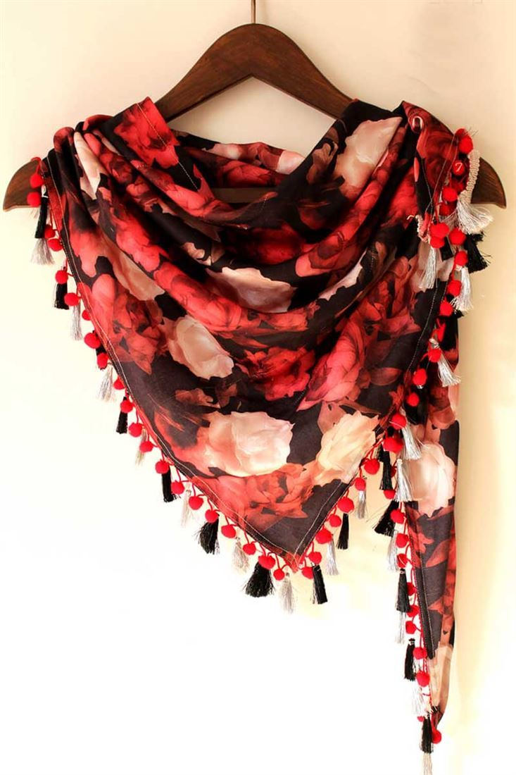 Trendy Digital Printed Scarf Fabric