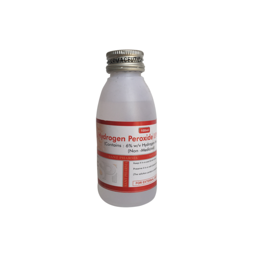 Hydrogen Peroxide Solution I.P 6% W/V (20ML, 100ML, 400ML)