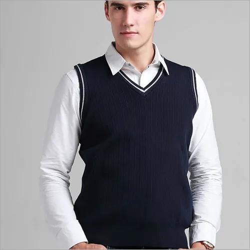 School Sleeveless Sweater