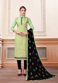 Banarasi Silk Woven Dress Material