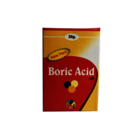 Boric Acid I.P (20MG, 100GM, 400GM)
