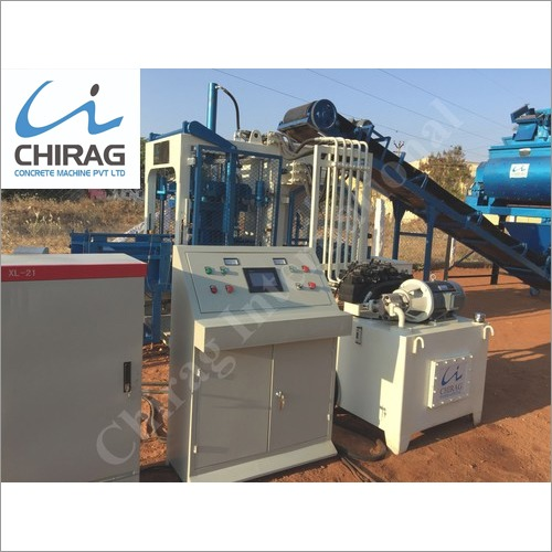 Chirag Powerful Performance Cement Brick Machine