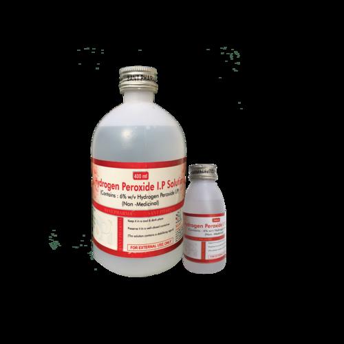 Hydrogen Peroxide I.P 6% W/V (20ML, 100ML, 400ML)