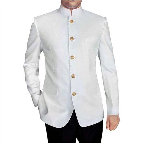 White Bandgala Blazer