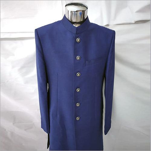 Royal Blue Achkan