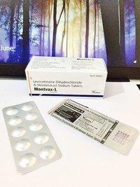 Montelukast Sodium 10 mg + Levocetirizine 5 mg