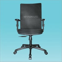 Mid-Back Office Chair (With Adjustable Armrest)