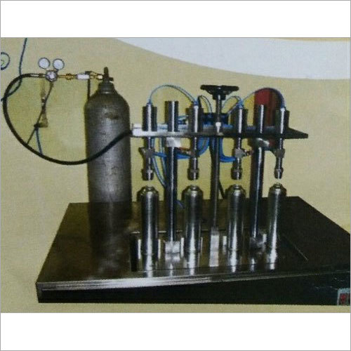 Aerosol Oxygen Gas Filling Machine