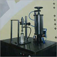 Aerosol Gas Filing Machine