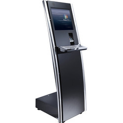 interactive self-service touch screen Visitor Management kiosk