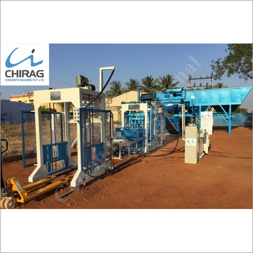 Chirag Multi-Speed Ash Bricks Machine