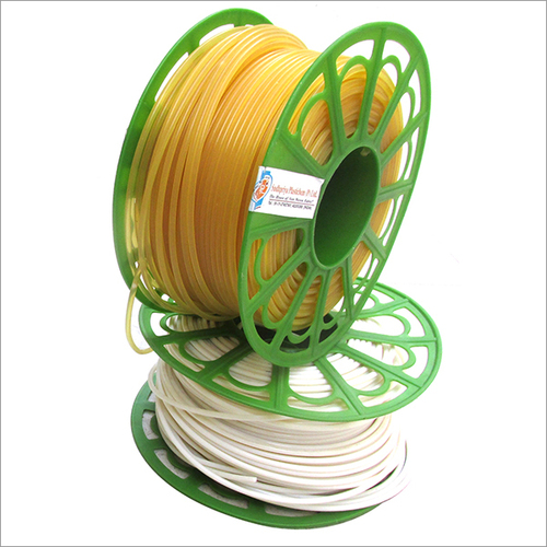 Thermoplastic Rod White / Yellow
