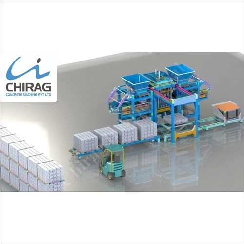 Chirag Advanced Technology Multifunction Brick Machine