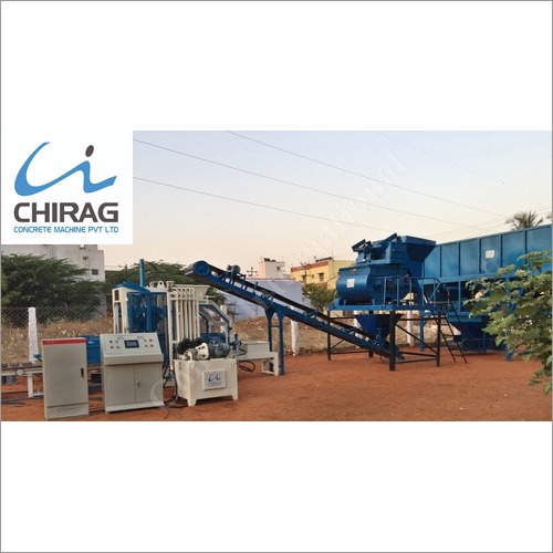 Modern Concrete Brick Making Machine