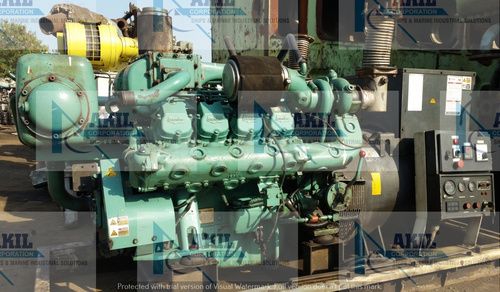 Doosan AD158TI Diesel Generator Year Built: 2012
