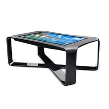 Modern style game table with interactive multi touch screen table for sale