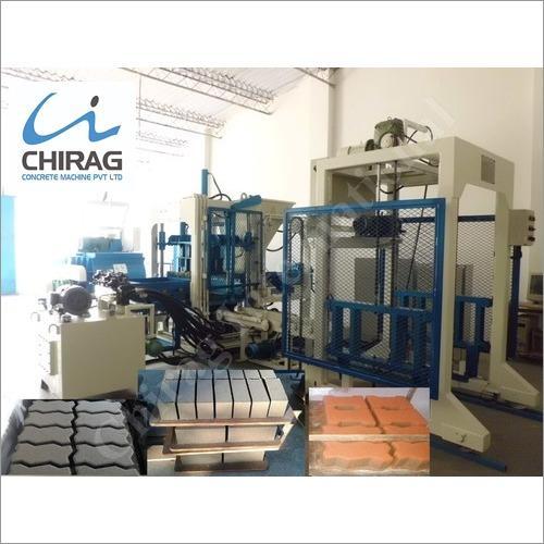 Chirag Hi-Technology Hydraulic Block Machine