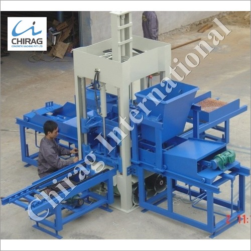 Chirag Latest Technology Manual Concrete Block Making Machine