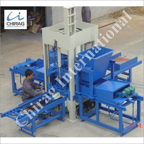 Chirag Latest Technology Manual Concrete Block Making Machine