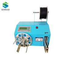 automatic winding and binding machine for cable