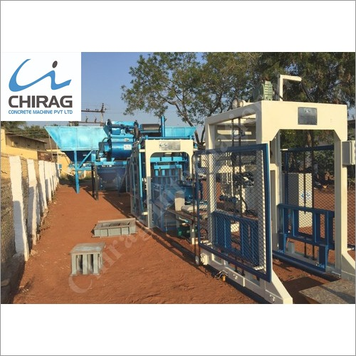 Chirag Unique Hollow Block Machine