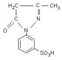 1-(3'Sulphophenyl)-3-Methyl-5 Pyrazolone