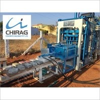 Chirag Modern Vibration Block Making Machine