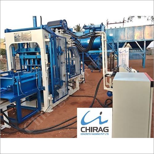 Chirag Advanced Popular Interlocking Block Making Machine