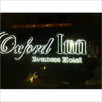 LED Back Glow Letters