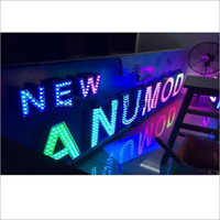 RGB LED Channel Letter Signage