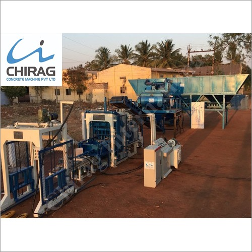 Chirag New Generation Manual Concrete Block Making Machine