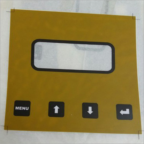 PVC Touch Button Sticker