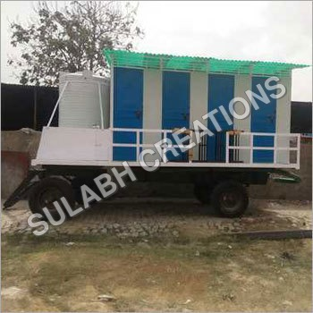 8 Seater Mobile Toilet Van