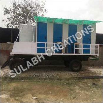 8 Seater Mobile Toilet Van