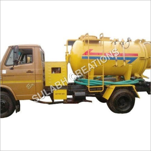Hydraulic Sewer Suction Cum Jetting Machine