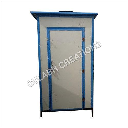 Portable PPGI Puff Toilet Cabins