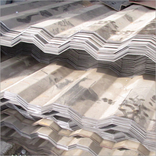 SS Corrugated Metal Sheet