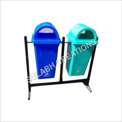 Twin Plastic Dustbin