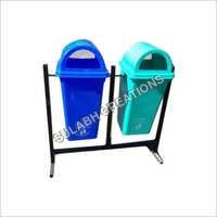 Twin Plastic Dustbin